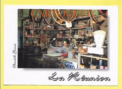 """CPM ILE DE LA REUNION """" Boutique Chinoise  """"  ( Peu Commune ) TOP - Non Classés"""