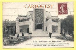 CPA Paris, Exposition Des Arts Décoratifs 1925, Le Pavillon Des Galeries Lafayette, Art Deco 1925 - Expositions