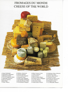 FROMAGES DU MONDE - Cheese Of The World / PHC 1684 De 1999 / CPM VIERGE NEUVE - Recettes (cuisine)