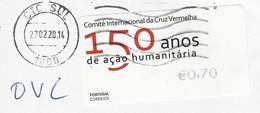 Portugal - Comité Internacional Cruz Vermelha - Croix Rouge - Red Cross (fragment) - Vignettes D'affranchissement (ATM/Frama)