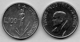 R30/  VATICAN  100 LIRE  1991  Km#231 - Vatican