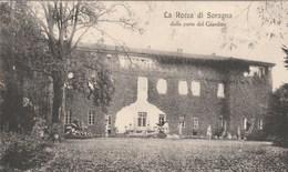 11333) PROVINCIA PARMA ROCCA DI SORAGNA DALLA PARTE DEL GIARDINO NON VIAGGIATA OTTIME CONDIZIONI - Parma