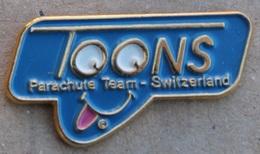 TOONS - PARACHUTE TEAM - SWITZERLAND - SUISSE - SCHWEIZ -             (15) - Parachutting