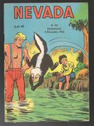 Nevada N° 101 - Editions LUG à Lyon - Décembre 1962 - Avec Miki Le Ranger, Apollon Et Lone Bardo - BE - Nevada