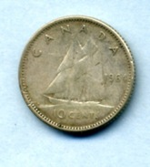 1964 10 CENTS - Canada