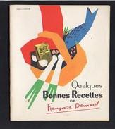 """Publicité 1960 / Livret 32 Pages """"Maïzéna"""" Quelques Bonnes Recettes De F. Bernard / Dessin J. Jacquelin - Publicités"""