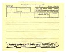 ^ TELEGRAMMA PUBBLICITA´ SANTORO FABRIANO DOCUMENTO 46 - Historical Documents