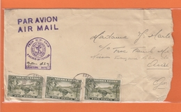 LETTRE DE FREETOWN POUR LA  MISSION FRANCAISE LIBRE A ACCRA,GRIFFE DE CENSURE. - Sierra Leona (...-1960)