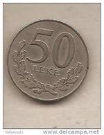 Albania - Moneta Circolata Da 50 Leke - 2000 - Albania