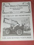 CHARENTES EN CPA N° 25  /1900  ANGOULEME CIRCUIT REMPARTS / ENVIRONS JARNAC SAINTES ROYAN COGNAC ROCHEFORT LA ROCHELLE - Poitou-Charentes