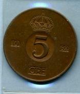 1962  5 ORE - Suède