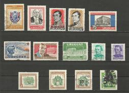 Lot De Timbres Années Diverses - Uruguay