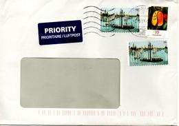 Auslands - Brief Von Briefzentrum 20 Mit 85 Cent Unterfrankatur ? Mischfrankatur Mit Werbestempel 2017 - BRD
