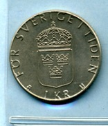 1977  1 Couronne - Sweden