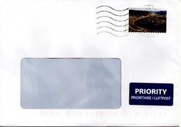 Auslands - Brief Von Briefzentrum 15 Mit 90 Cent 2017 - BRD