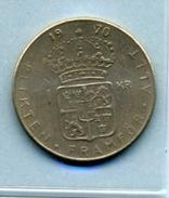 1970  1 Couronne - Suède