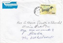 Tanzania 1995 Mwanza Pied Crow (Corvus Albus) Cover - Tanzania (1964-...)