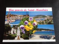 Une Pensée De SAINT MANDRIER - 2006 Timbrée - Saint-Mandrier-sur-Mer