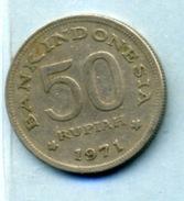 1971  50 Roupie - Indonésie