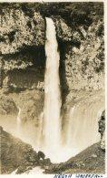 JAPAN - Untited - Hand Written Kegon Waterfall -  Rear Imprint 1952 RPPC - Nikko - Japon