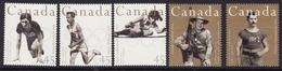 Canada #1608-12, F-VF Mint NH ** 1996 Atlanta Summer Olympics - Summer 1996: Atlanta