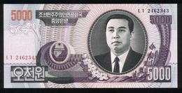 Korea 2006, 5000 Won - UNC - Korea (Nord-)