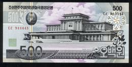 Korea 2007, 500 Won - UNC - Korea (Nord-)