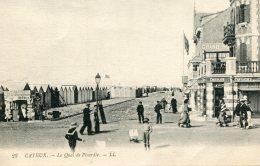 FRANCE - Cayeux - Le Quai De Picardie By LL - Good Animation - Cayeux Sur Mer