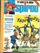 Album  Du Journal Spirou N°143-Recueil-Reliure-1977-(Les Tuniques Bleues-Gaston Lagaffe-Schtroumpfs-Boule Et Bill......) - Spirou Magazine
