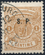 Stamp  Luxembourg 1881 1c Used Lot#11 - 1859-1880 Armoiries