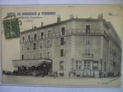 Limoges Hotel De Bordeaux Et Terminus Chenaud Propriétaire Inédite Sur Delcampe - Limoges
