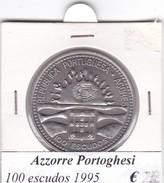AZZORRE PORTOGHESI   100 ESCUDOS  1995  COME DA FOTO - Azores
