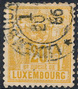 Stamp  Luxembourg 1882    Used Lot#31 - 1859-1880 Armoiries