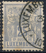 Stamp  Luxembourg 1882    Used Lot#32 - 1859-1880 Armoiries