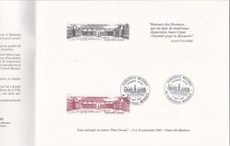 """Plaquette 12 Pages Charleville (08) N° 704 Vente Anticipée Timbre """"Place Ducale"""" De 1983. Dessins R.Irolla (couverture ) - Unclassified"""
