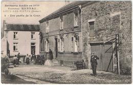 Brasserie Fondée En 1830 Eduard Hennau Gouy-Lez-Pieton - Courcelles