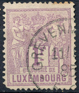 Stamp  Luxembourg 1882  1fr Used Lot#39 - 1859-1880 Coat Of Arms