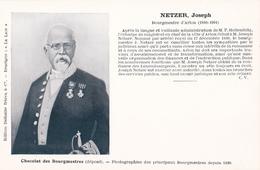 """ARLON - NETZER, Joseph -  Bourgmestre D'Arlon De 1880 à 1901) - Edition Delhaize Frères & Cie Enseigne """"Le Lion"""""""