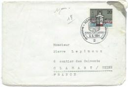 ENVELOPPE ALLEMAGNE POUR LA FRANCE / HAMBURG 36 1964