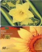 Telefonkarte Bulgarien - BulFon - Blumen , Flowers - 50 Units - Aufl. 50000 - 04/03 - Bulgarien
