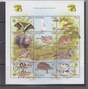 Grenada YV 3383/94 N 1999 Faune - Briefmarken