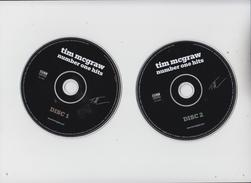 Tim McGraw - Number On Hits -  2 Original CDs - Country & Folk