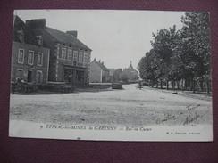 CPA 71 EPINAC LES MINES La Garenne Rue Du Curier PRECURSEUR Avant 1905 COMMERCES Godillot-Lageu? & Rougeot-Michaud - France