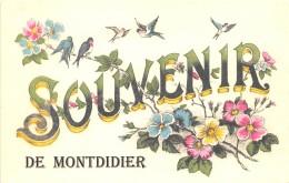 80 - SOMME / Fantaisie Moderne - CPM - Format 9 X 14 Cm - MONTDIDIER - France