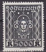 ÖSTERREICH 1922 ANK 407A   MH* - 1918-1945 1ère République
