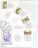 ITALIA - FDC  CAPITOLIUM  1987 - PIAZZE D ´ ITALIA - ARTE - ANNULLI SPECIALI - 6. 1946-.. Repubblica