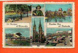OSTENDE : Un Bonjour - Oostende