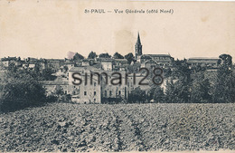 SAINT PAUL - VUE GENERALE (côté Nord) - Saint Paul Cap De Joux
