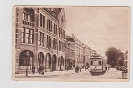 Haarlem - Zijlweg Met Tram En Volk - Zeer Oud - Haarlem