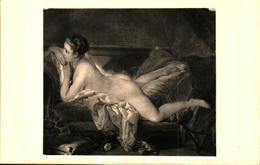 Tableau Peintre B - Boucher, Nu - Pintura & Cuadros